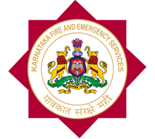 Karnataka fire and emergency services logo